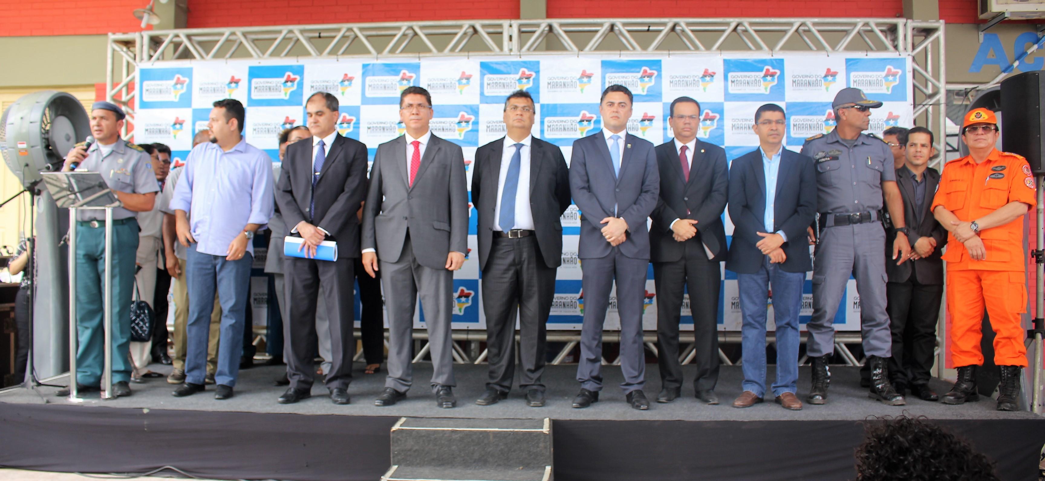 Secretário Jefferson Portela participa de solenidade de reinauguração da Academia de Polícia Civil