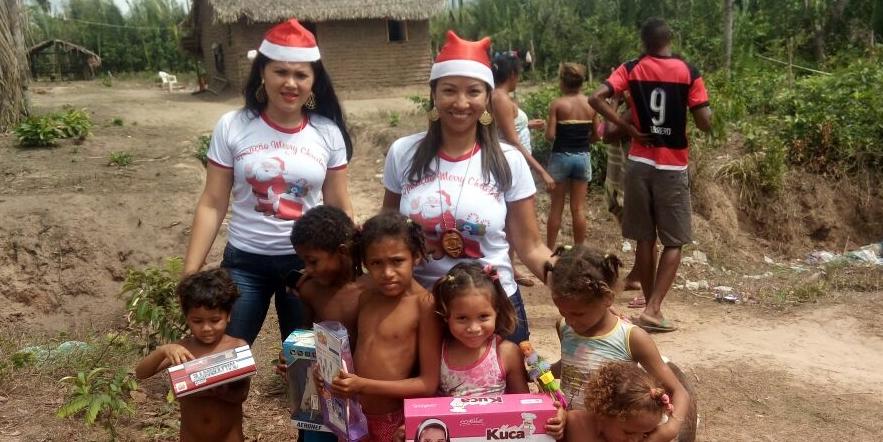 Polícia Civil promove ação natalina na cidade de Bequimão