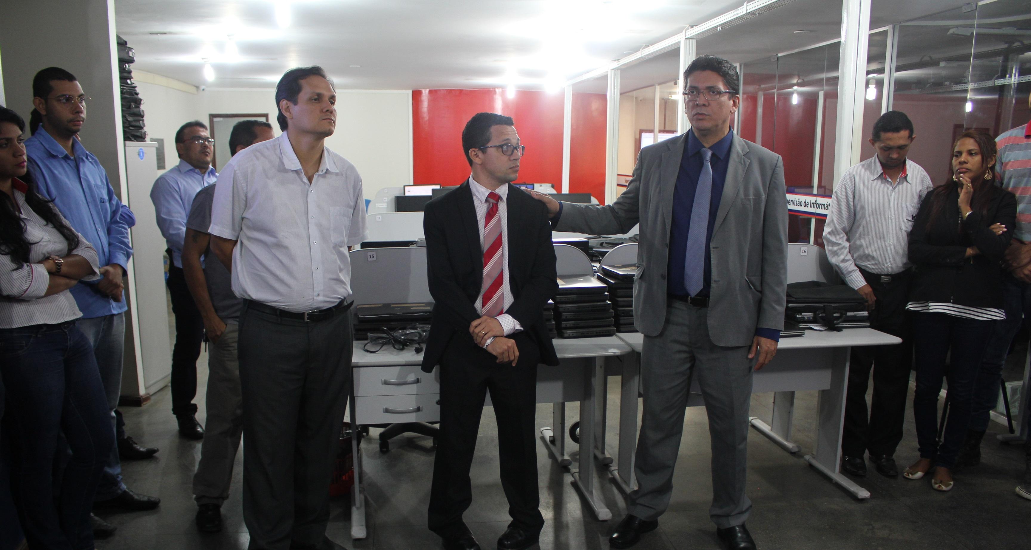 Secretário de segurança pública participa da posse do supervisor de informática na SSP