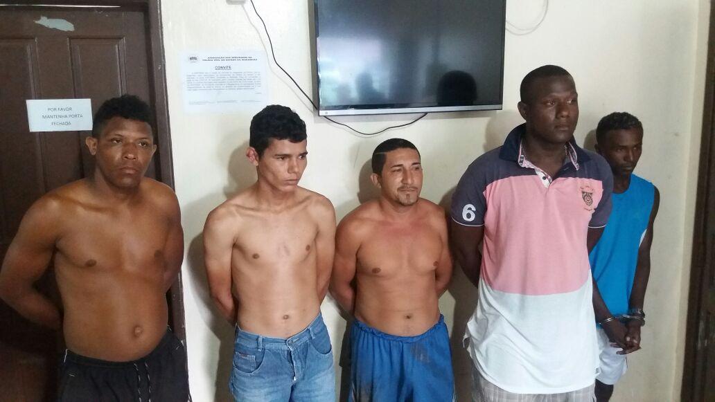 Operação Pirâmide da Polícia Civil cumpre 10 mandados em Paço do Lumiar e prende 05 acusados por assaltos