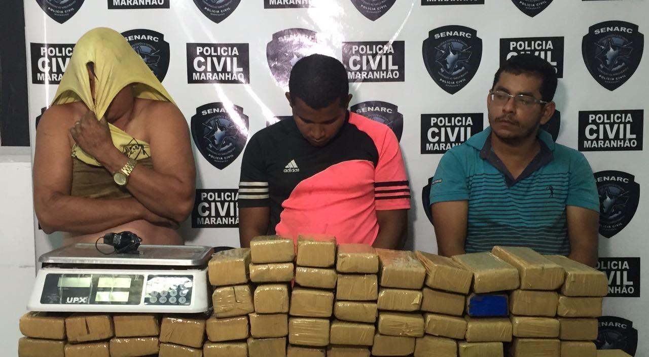 Polícia Civil estoura depósito de drogas em São Luís