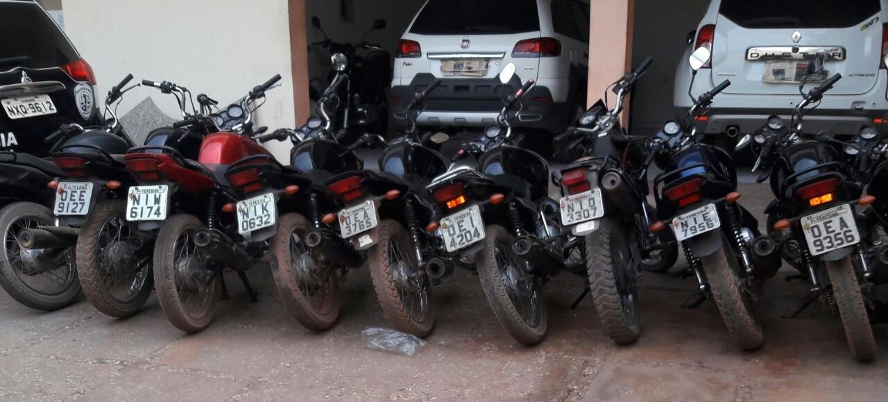 Polícia Civil recupera 18 motos roubadas em Caxias