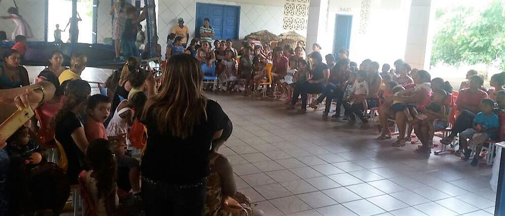 Ação social e realizada em Santo Antônio dos Lopes