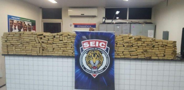 Em dois anos, Polícia retirou de circulação 14 toneladas de drogas no Maranhão