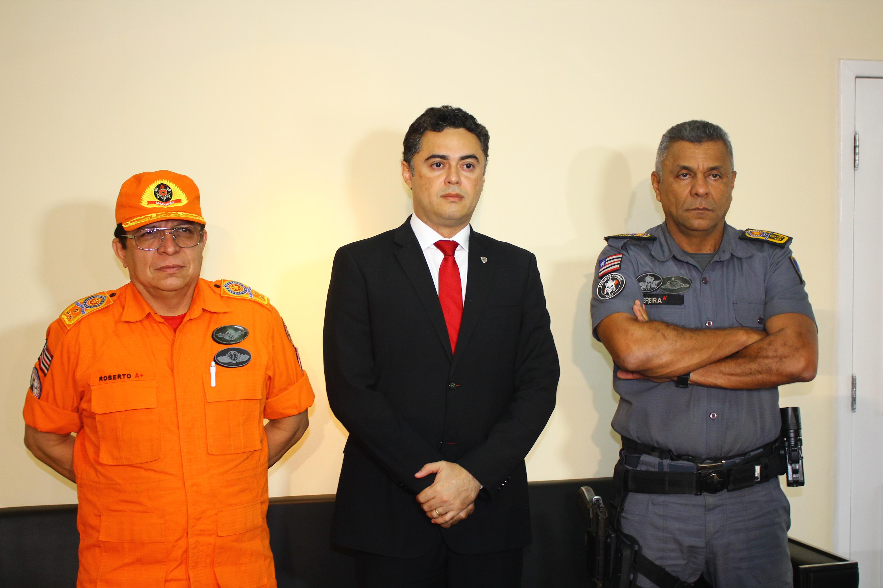 Delegado geral Lawrence Melo, da SSP, apresenta dados de redução da criminalidade nos anos de 2015 e 2016 na grande São Luís