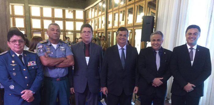 Cúpula da segurança do Maranhão participa do 13º Fórum de Governadores da Amazônia Legal