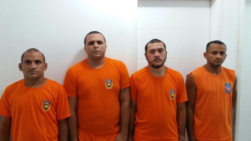 Policia Civil descobre verdadeira identidade de quatro assaltantes à agencia bancaria de Fortaleza dos Nogueiras