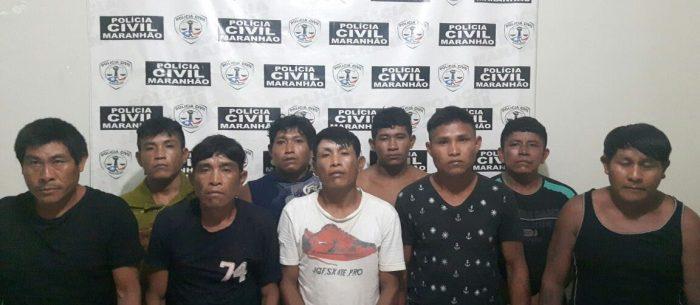 Polícia Civil prende quadrilha formada por índios em Barra do Corda