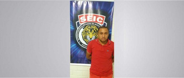 Polícia Civil prende assaltante de banco no interior do estado