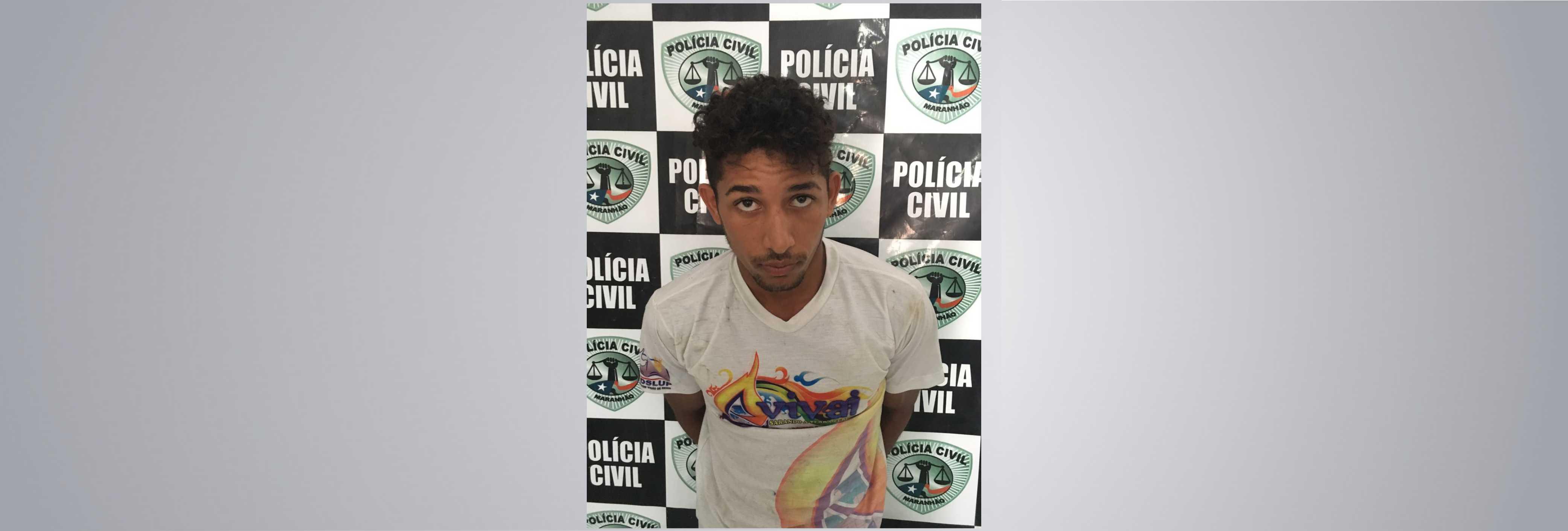 Polícia Civil recaptura foragido em Santa Luzia do Paruá