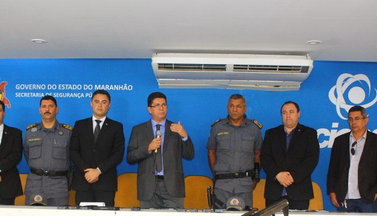""""""" Vai prevalecer a força do estado"""" afirma Jefferson Portela sobre desarticulação de quadrilhas de roubo a banco do Maranhão."""