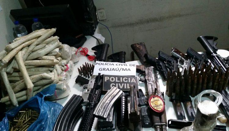 Operação integrada entre as policias resulta em 3 mortos e na apreensão de fuzis, pistolas e explosivos em Grajaú