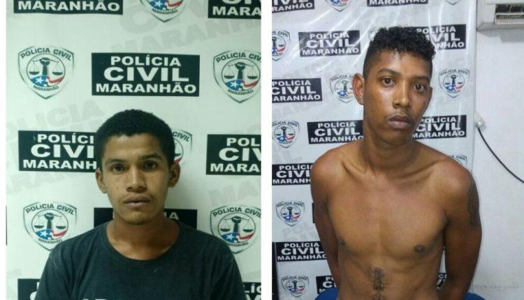 Suspeitos por tráfico de drogas são presos pela Polícia Civil no Interior do Maranhão