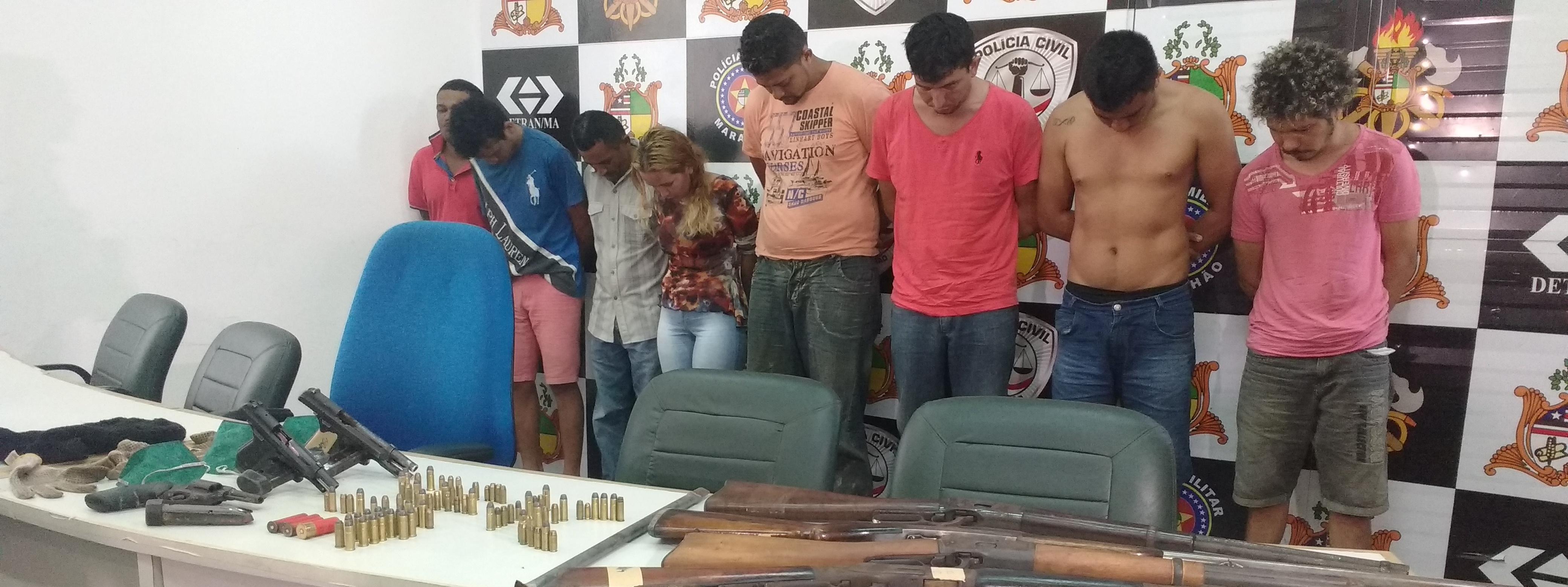 Polícia do Maranhão manda 25 assaltantes de bancos para a cadeia em menos de uma semana