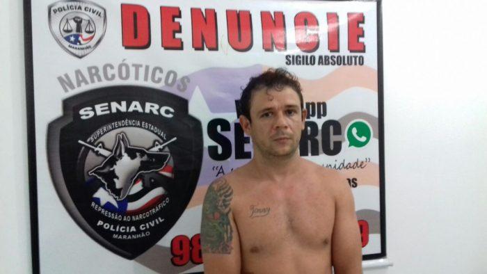 Polícia Civil prende suspeito envolvido com cocaína e maconha na região metropolitana de São Luís