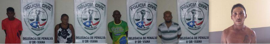 Mandados de prisão são cumpridos pela Polícia Civil em Viana