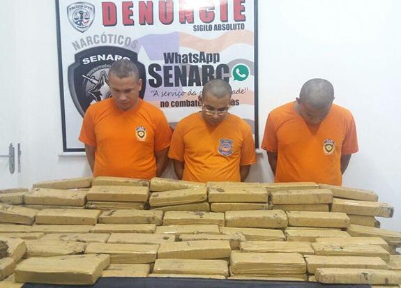 300Kg de maconha são apreendidas pela Polícia Civil no São Cristovão