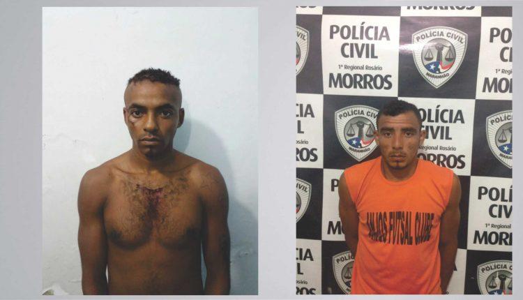 Polícia Civil prende dois homens sob acusação de estupro e feminicídio no interior do Maranhão