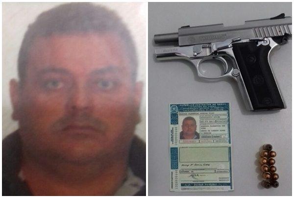 Mais uma arma tirada de circulação pela Polícia Civil em Governador Nunes Freire