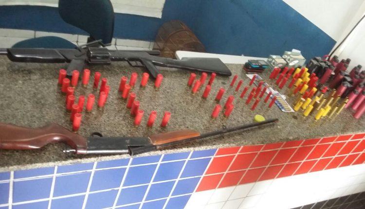 Polícia Civil fecha estabelecimento ilegal de arma de fogo na cidade Santa Helena