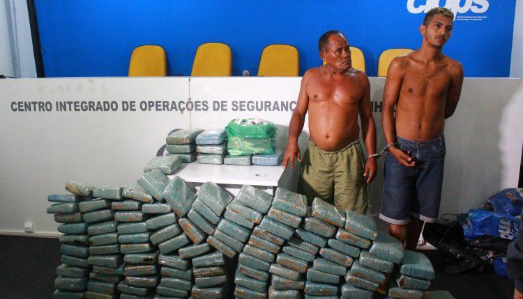 POLÍCIA CIVIL E MILITAR APREENDE CERCA 123 MIL REAIS EM DROGAS NA CIDADE DE ITAPECURU MIRIM