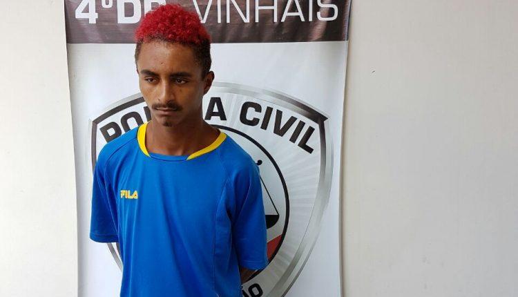 Polícia Civil prende homicida no Vinhais e cumpre mandado de prisão no Coroadinho