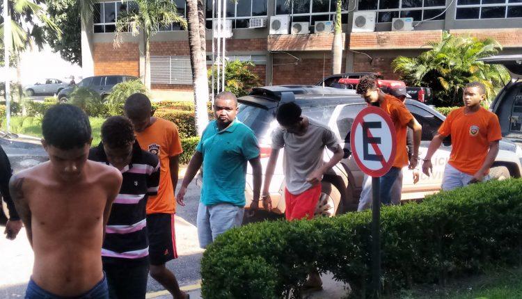 Ação conjunta entre as polícias civil e militar resultam na prisão de 08 acusados na Vila Embratel