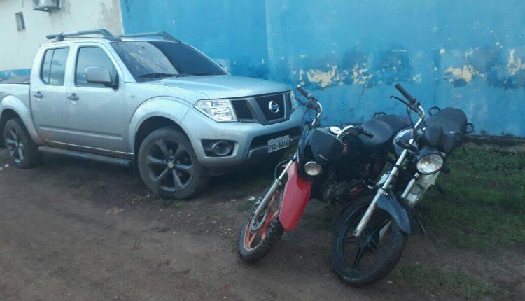 Veículo roubado em Goiás é apreendido pela Polícia Civil em São Bento.
