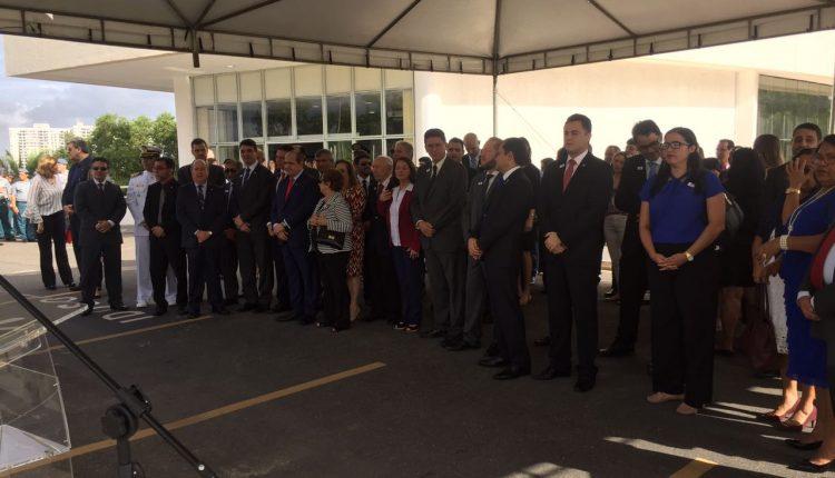 Delegado Geral e o Secretário de Segurança participa do cinquentenário da Procuradoria Geral de Justiça do Maranhão (PGJ)