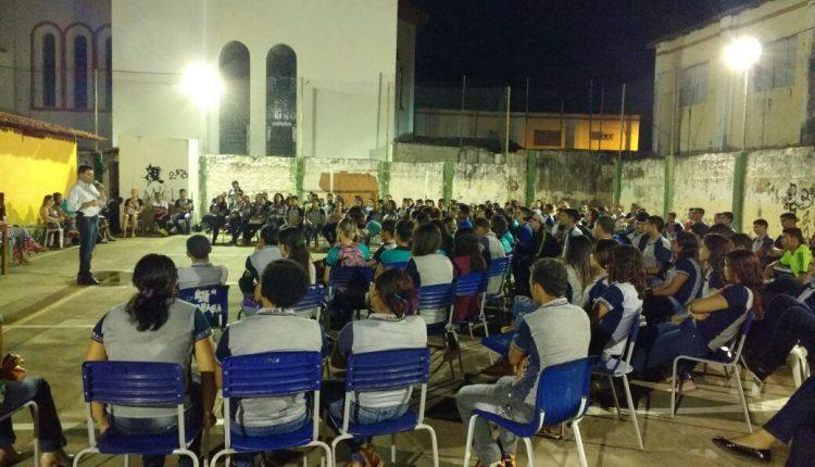 Polícia Civil promove palestras de combate as drogas em escolas de Barra do Corda