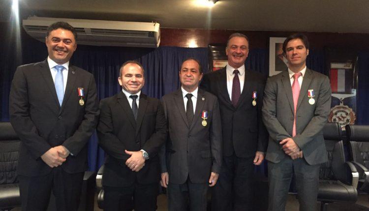 Delegado Geral da Polícia Civil Lawrence Melo recebe Medalha do Mérito da Polícia Civil