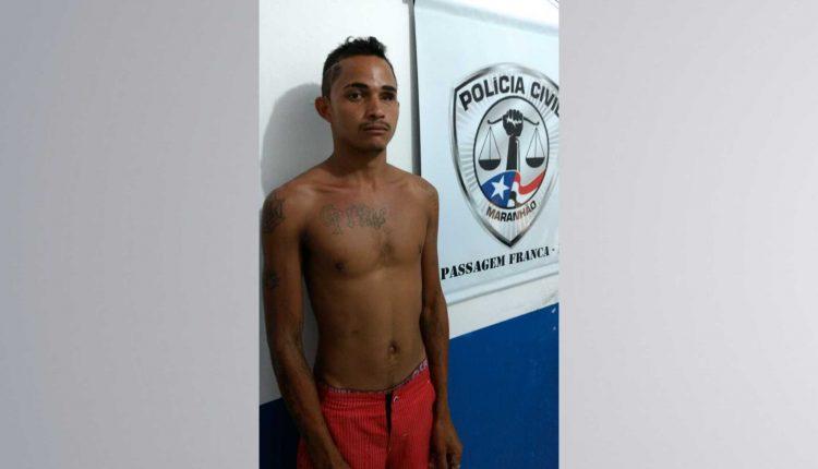 Polícia Civil prende suspeito de cometer roubos em Passagem Franca