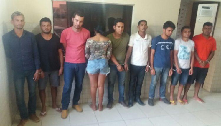 Operação integrada entre as policias civil e militar dos estados do Maranhão e Pará desarticulam quadrilha especializada em explosões a agências bancárias em Curionópolis