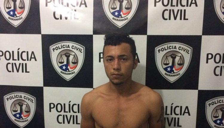 Suspeito em cometer assaltos é preso pela Polícia Civil em Olho D'Água das Cunhas