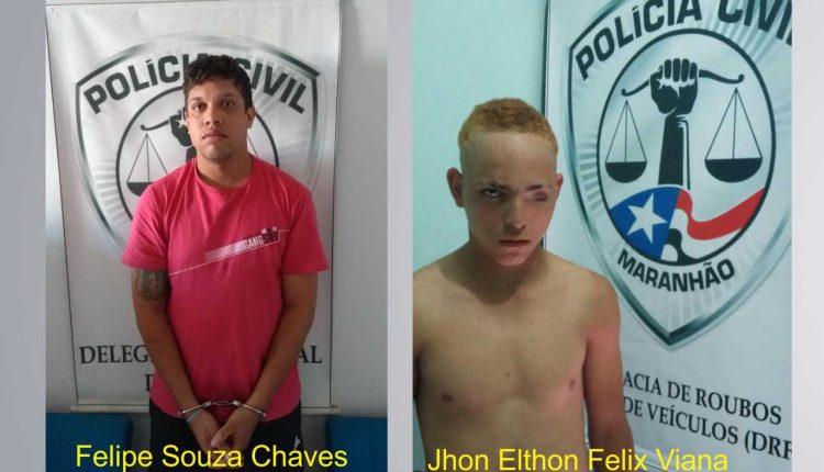 Polícia Civil cumpre mandados de prisão em Caxias e São Luís