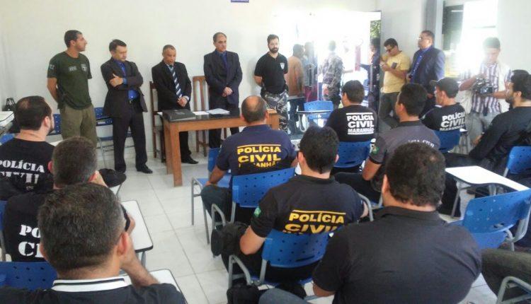 Policia Civil realiza  Curso de Nivelamento Policial em Santa Inês