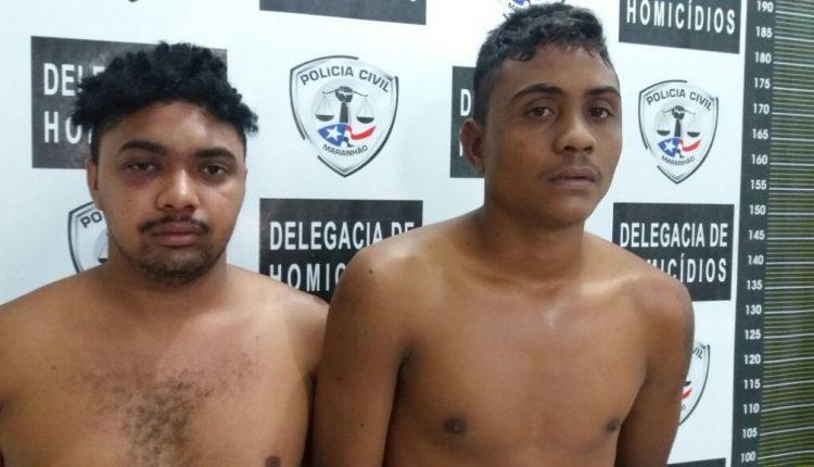 Homicidas são presos pela Polícia Civil na cidade de Chapadinha