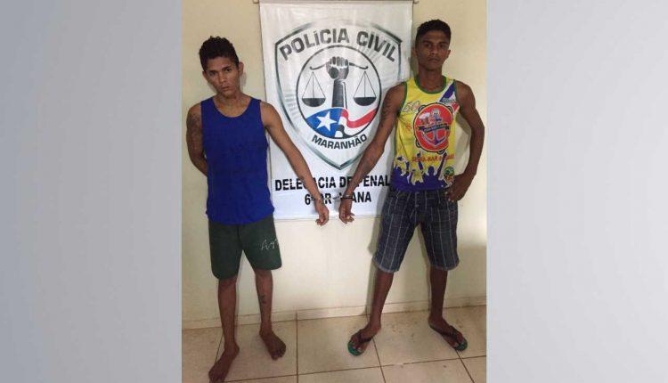 Polícia Civil prende dupla de assaltantes na cidade de Penalva