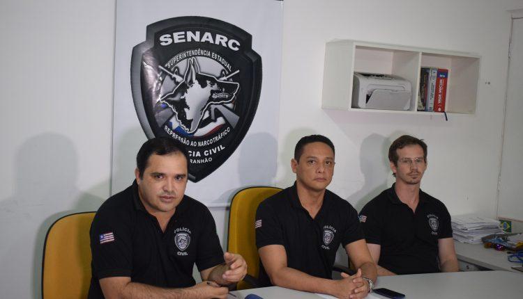Polícia Civil apreende 25 quilos de maconha e prende dois homens suspeitos por tráfico de drogas