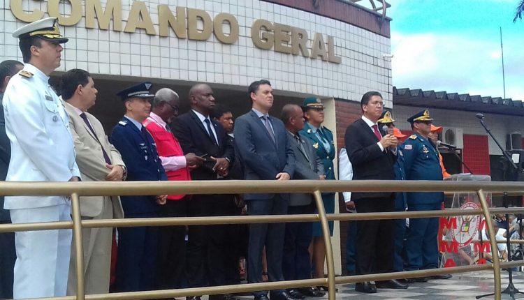 Polícia Civil participa da solenidade ao Dia Nacional do Bombeiro Militar