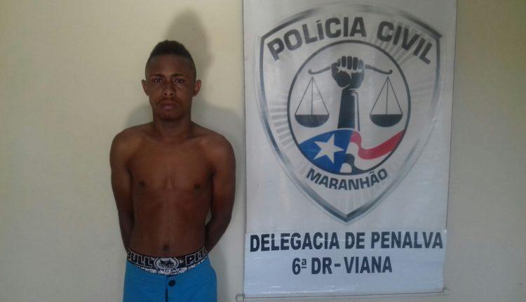 Penalva: Homem é preso pela Polícia Civil por roubo qualificado