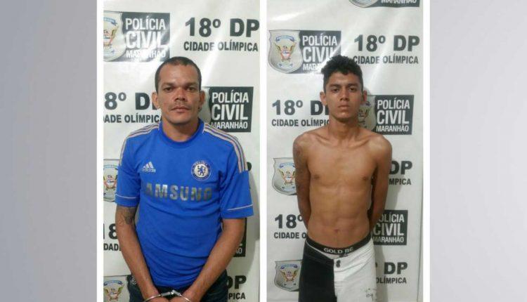 Dois homens suspeitos por tráfico de drogas são detidos pela Polícia Civil
