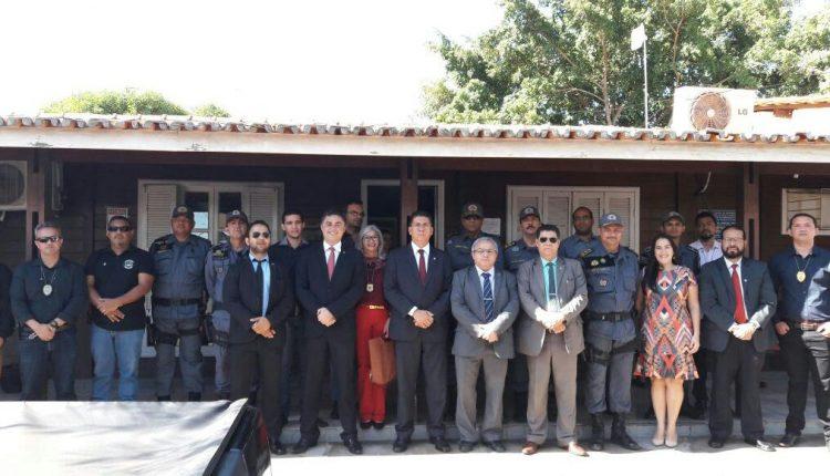Cúpula da Segurança visita IML, ICRIM e participam da posse ao novo comandante de Imperatriz