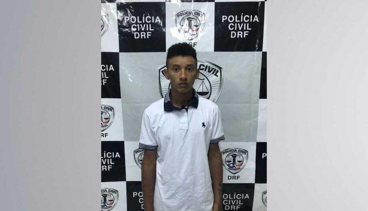 Suspeito de cometer assaltos a residências no Araçagy é preso pela Polícia Civil