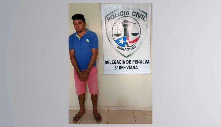 Polícia Civil prende homem suspeito pelo crime de roubo qualificado em Penalva