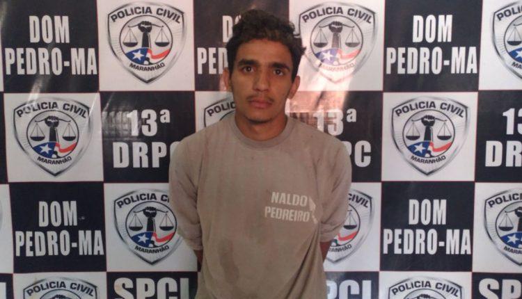 Polícia Civil prende homem suspeito de tentar assassinar ex namorada na cidade de Dom Pedro