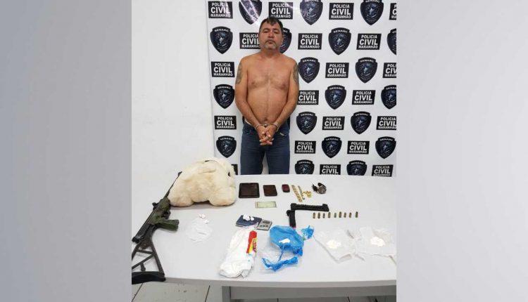 Polícia Civil prende traficante em São José de Ribamar