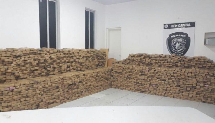 Senarc inicia o ano de 2018 com o poderio de combate ao narcotráfico no Maranhão
