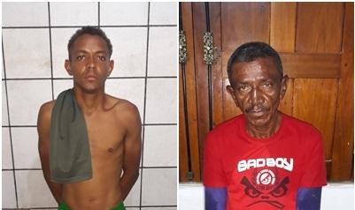 Polícia Civil prende dois homens por crime de violência contra a mulher em Timom