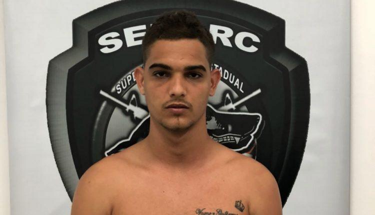 POLÍCIA CIVIL PRENDE SUSPEITO POR TRÁFICO DE DROGAS NO BAIRRO DO COROADO